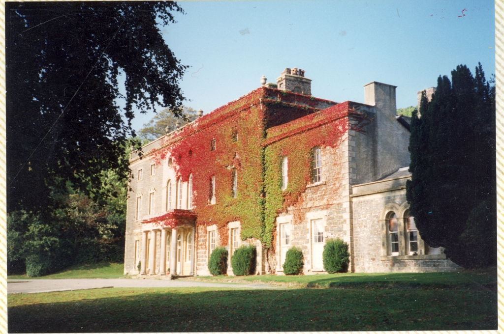 Nanteos in 1995 before its recent refurbishment as a country house hotel