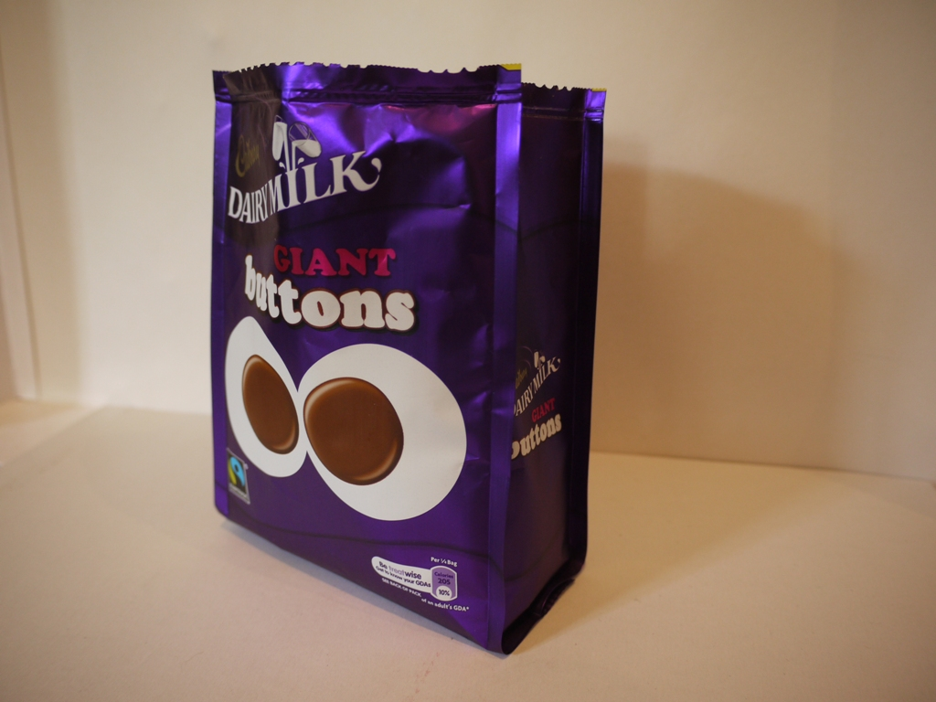 Cadbury's Giant Chocolate Buttons