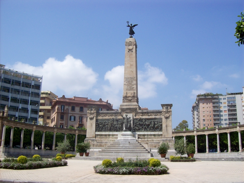The winged Victory in Palermo