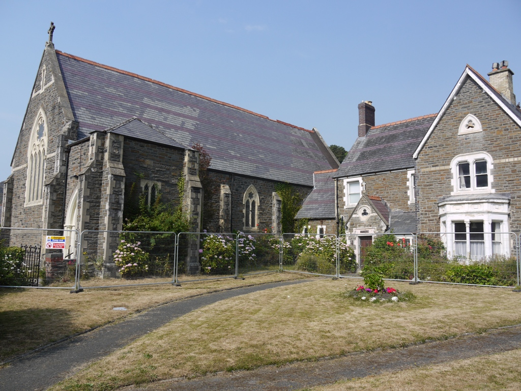 The Presbytery and its pretty garden will be neglected until demolition can be secured.