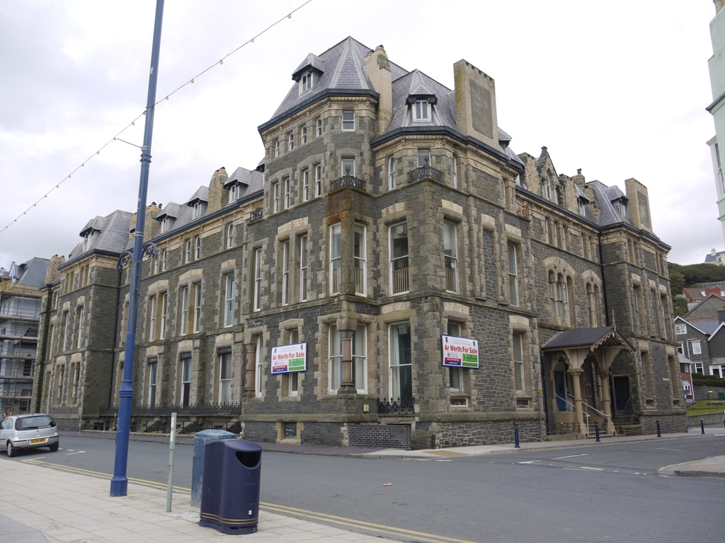 The Queen's Hotel and former Council Offices, Aberystwyth