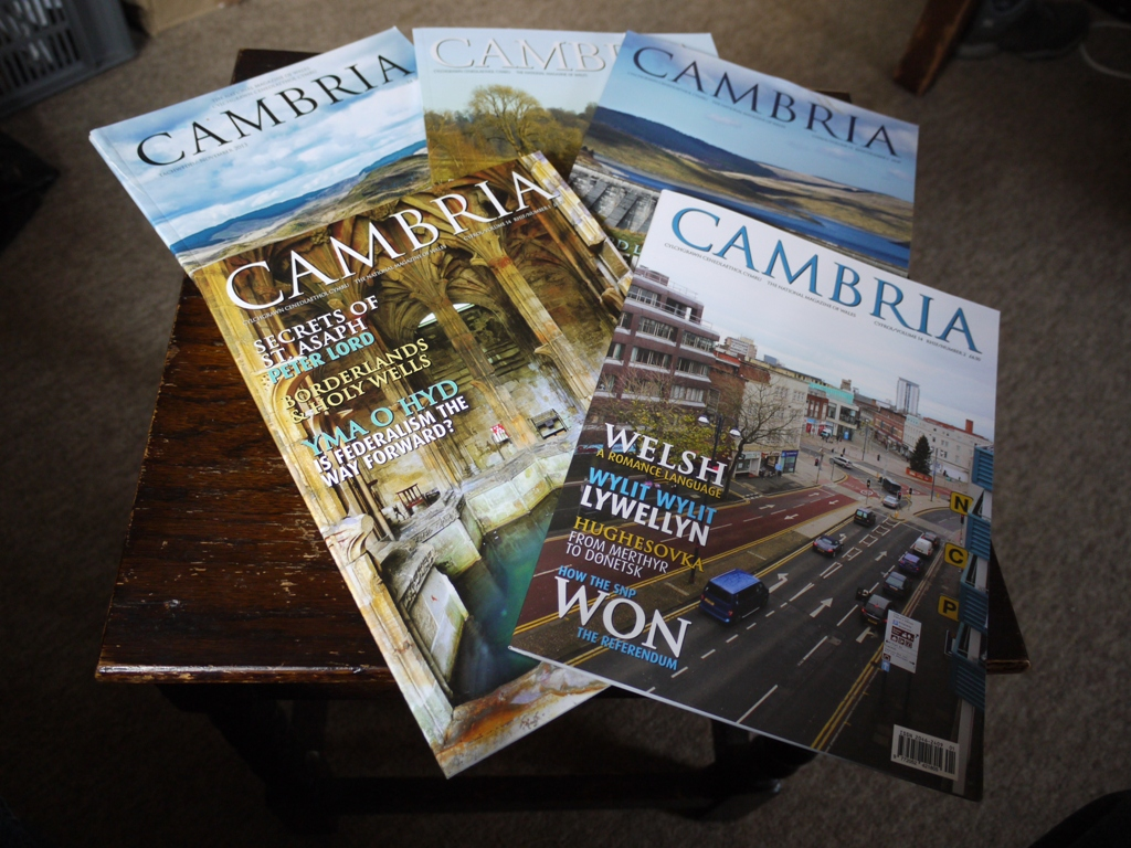 The last issues of Cambria magazine