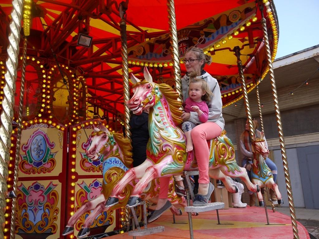 Carousel at Dismaland 1
