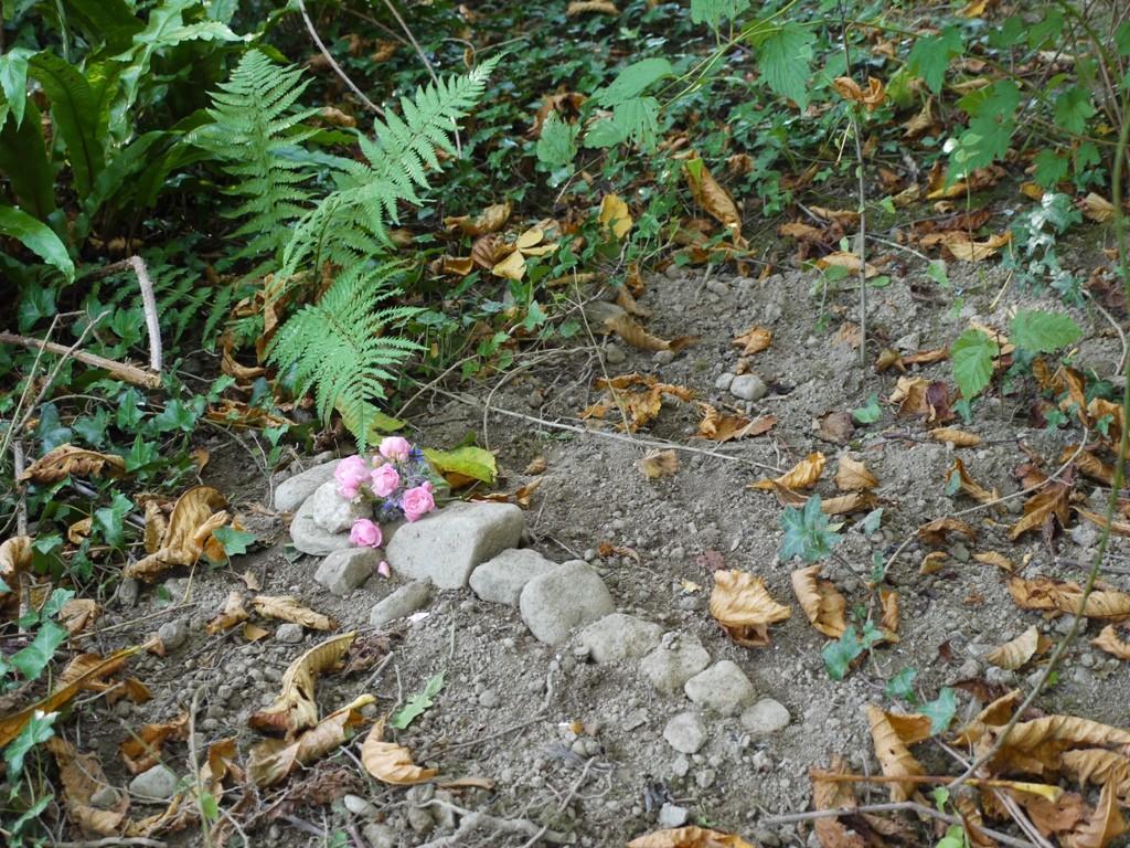 Bertha's grave