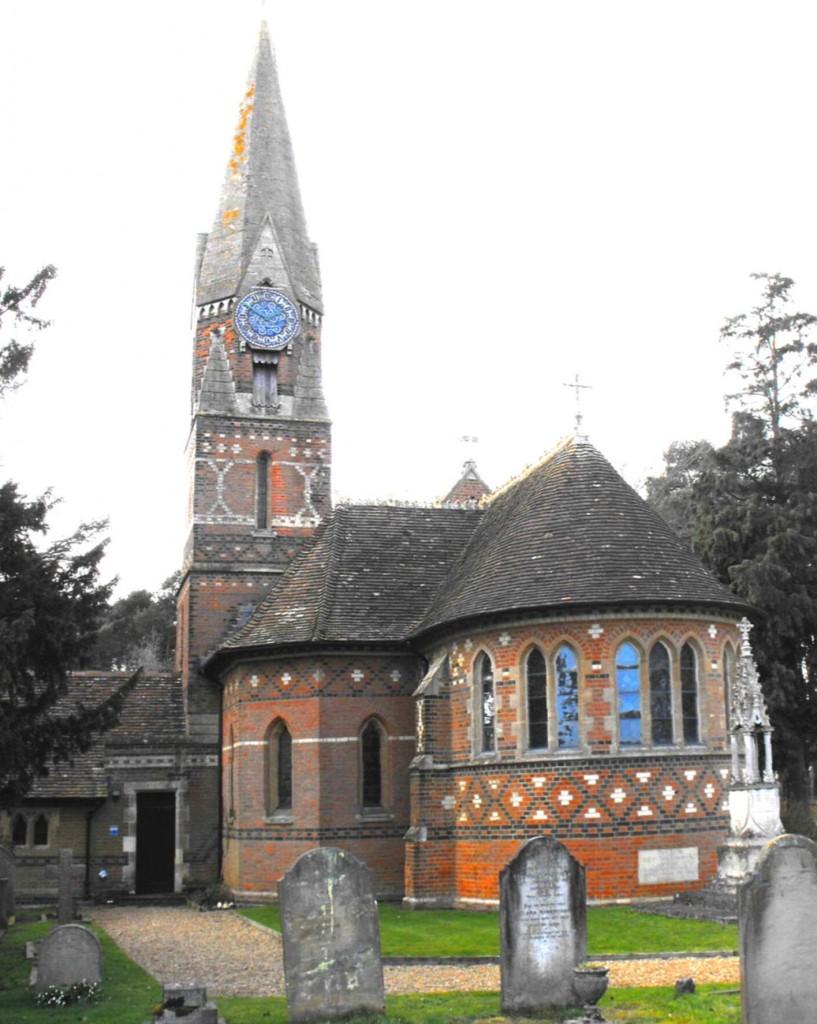 Ayot St Peter, Hertfordshire, designed by JP Seddon