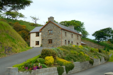 Pengraig Draw, now a lavishly renewed holiday cottage